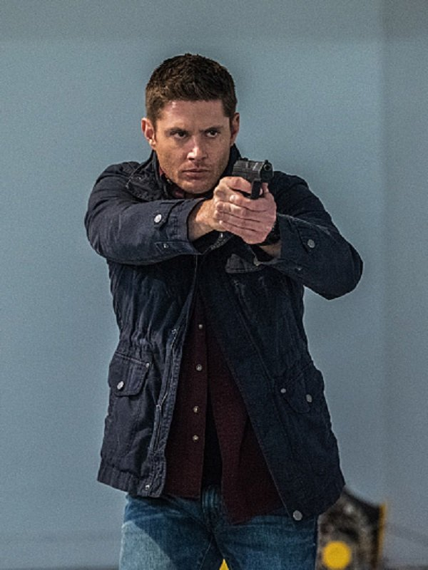 Jensen Ackles Supernatural Blue Cotton Jacket