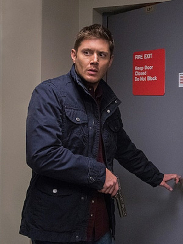 Jensen Ackles Supernatural Cotton Blue Jacket