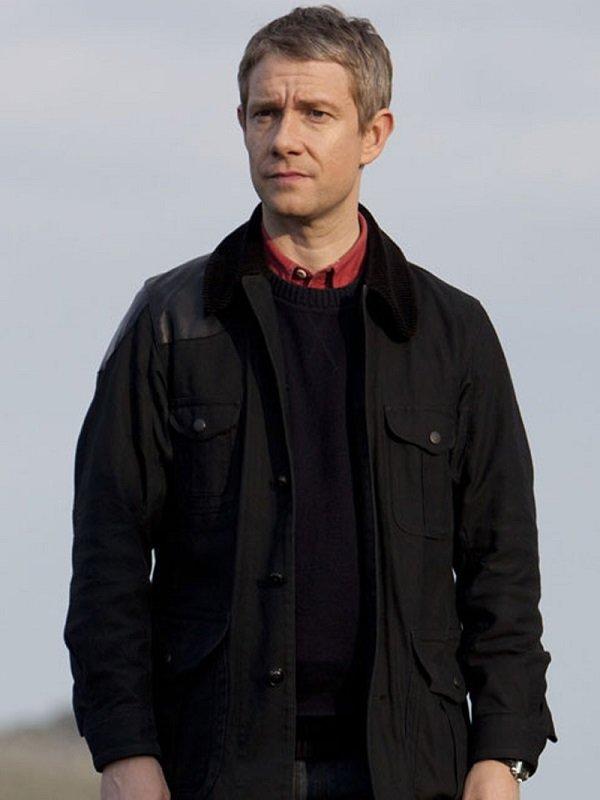 Sherlock Martin Freeman Drama Series Jacket