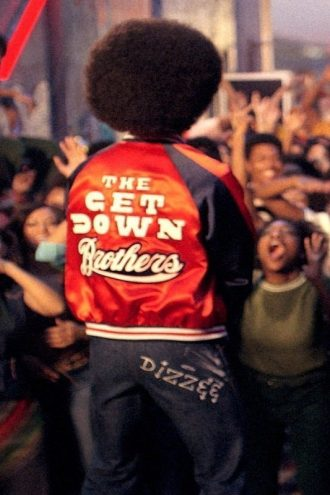 Bomber Letterman The Get Down Brothers Jacket