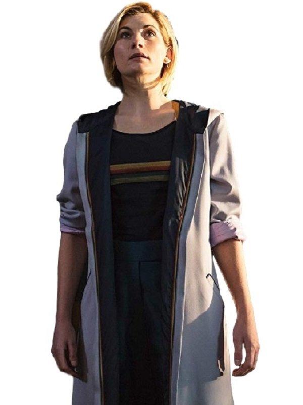 13th Doctor Jodie Whittaker Hoodie Coat