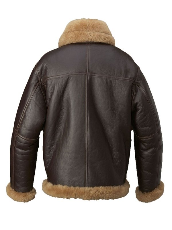 Arthur Curry B3 Shearling Jacket from Justice League Movie