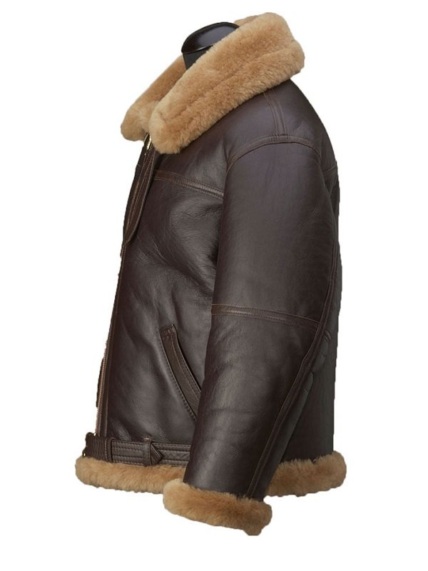 Jason Momoa Justice League Arthur Curry Shearling Jacket