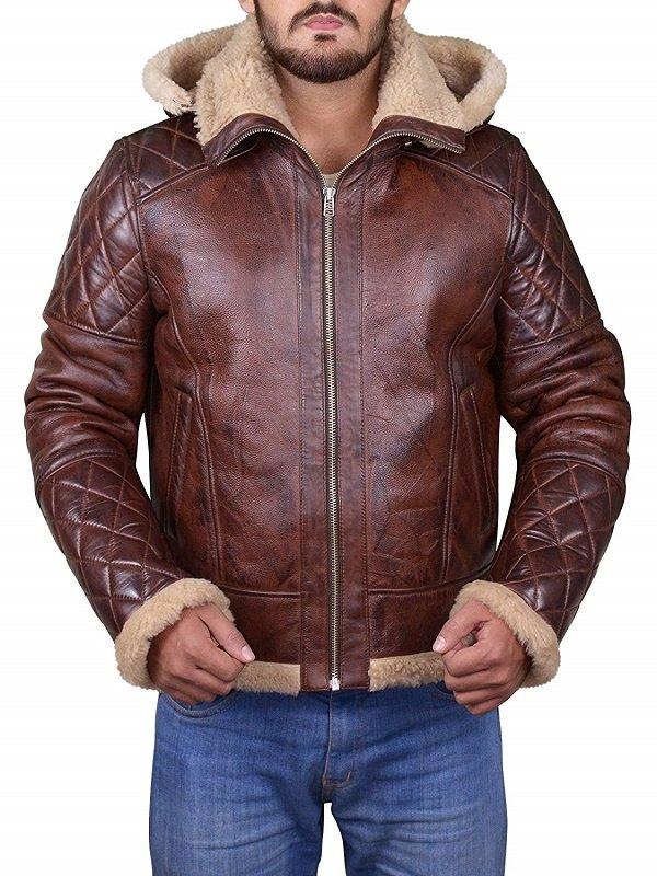 Men's B3 Bomber Diamond Quilted Jacket