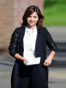 Doctor Who Season 9 Clara Oswald Double Breasted Coat