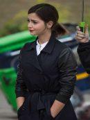 Jenna Coleman Doctor Who Clara Oswald Wool Coat