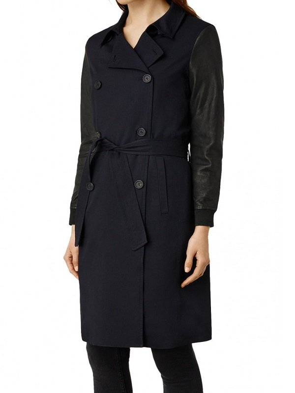 Jenna Coleman Doctor Who Coat