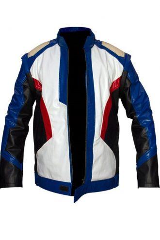 Overwatch Soldier 76 Moto Biker Jacket