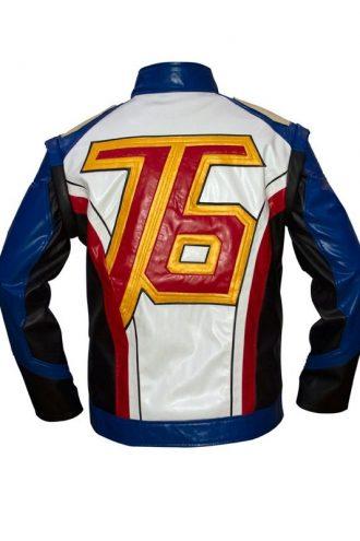 Overwatch Soldier 76 Biker Jacket