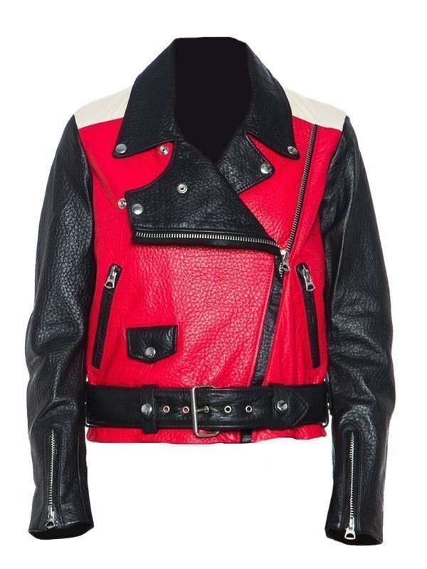 American Singer Songwriter Demi Lovato Leather Jacket
