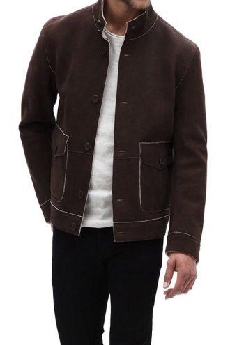 Stephen Amell Arrow Series Leather Jacket