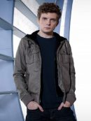 Continuum TV Series Erik Knudsen Grey Leather Jacket