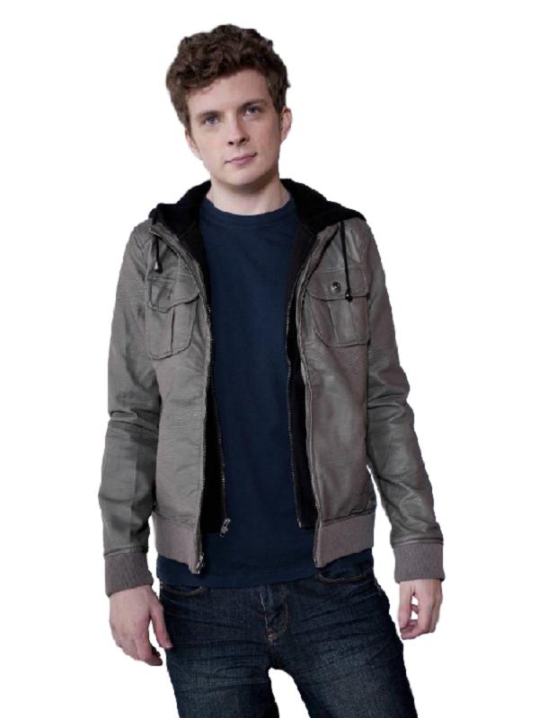 Continuum TV Series Erik Knudsen Leather Jacket