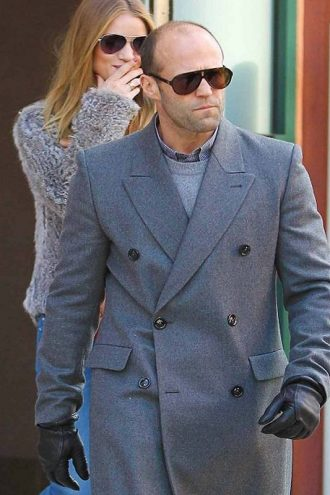 Jason Statham Double Breasted Coat