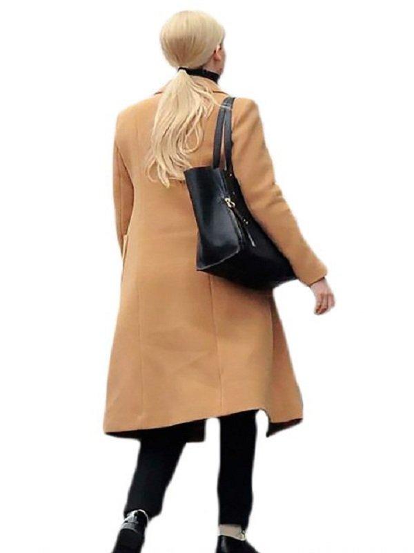 Dominika Egorova Red Sparrow Jennifer Lawrence Coat