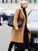 Dominika Egorova Red Sparrow Coat