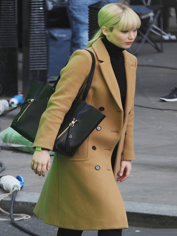 Jennifer Lawrence Red Sparrow Coat