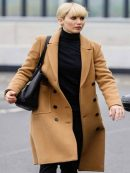 Jennifer Lawrence Red Sparrow Double Breasted Trench Coat