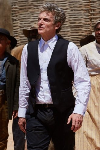 Peter Capaldi Doctor Who Series Black Vest