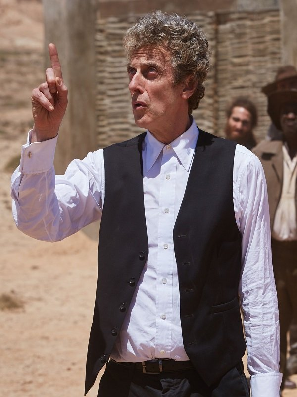 Doctor Who Series Peter Capaldi Black Vest