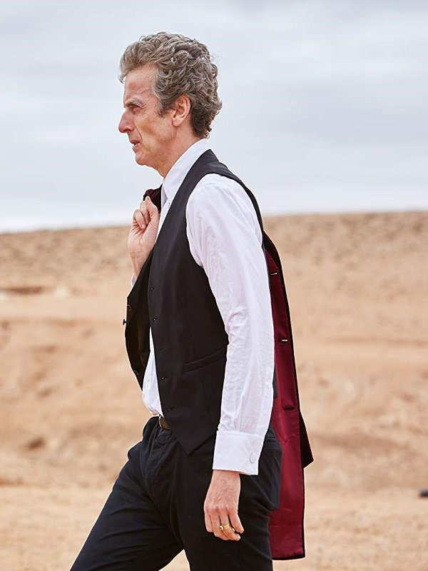 Doctor Who Peter Capaldi Vest