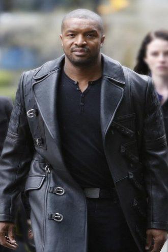 Travis Verta Continuum Roger Cross Black Long Coat