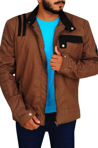 Mens Street Riding Honda Heritage Biker Jacket