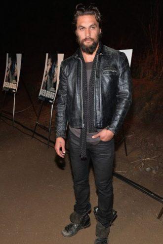 Jason Momoa Distressed Jacket