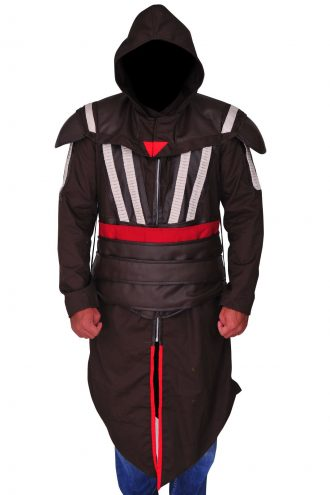 Assassin's Creed Movie Callum Lynch / Aguilar Hoodie Coat