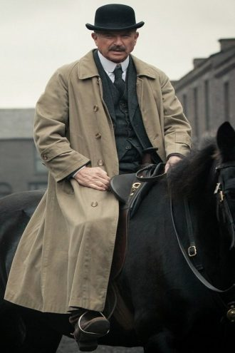 Peaky Blinders Inspector Chester Campbell Coat