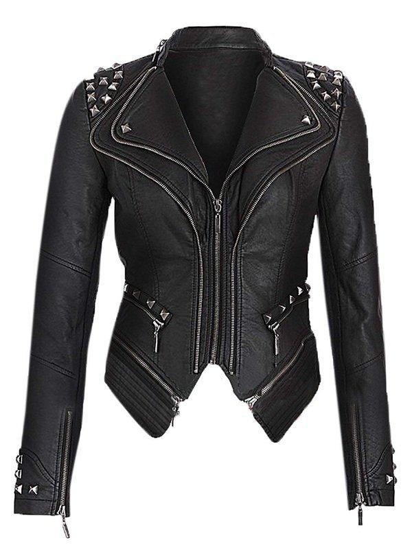 Wrestler Saraya-Jade Bevis Leather Jacket