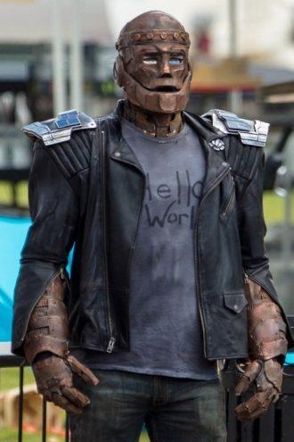 Doom Patrol Cliff Steele Leather Jacket