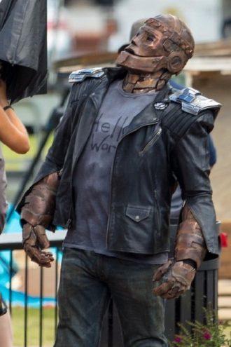 Brendan Fraser Doom Patrol Cliff Steele Jacket