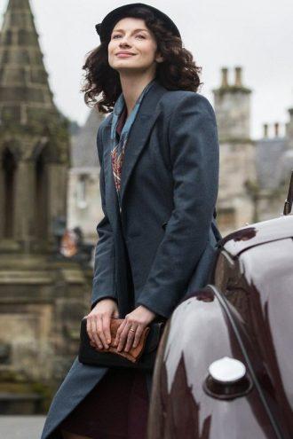 Caitriona Balfe Outlander Claire Randall Coat