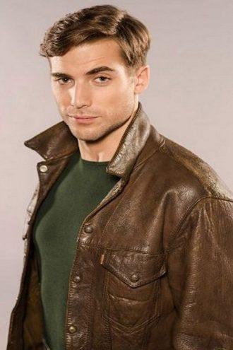 X Company TV Series Tom Cummings Brown Leather Jacket