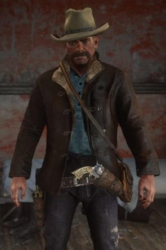 Console Game Red Dead 2 Dutch van der Linde Jacket
