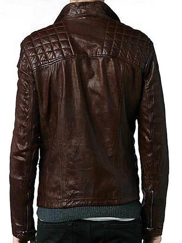 Eddie Redmayne Motorcycle Leather Jacket
