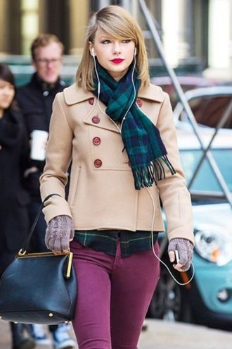 Taylor Swift NYC Street Style Jacket