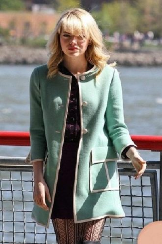 The Amazing Spider-Man 2 Emma Stone Coat