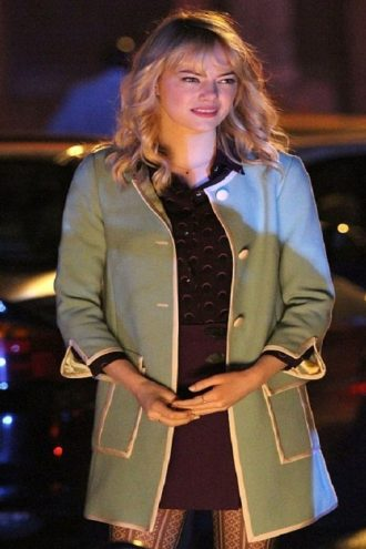 Gwen Stacy Green Coat
