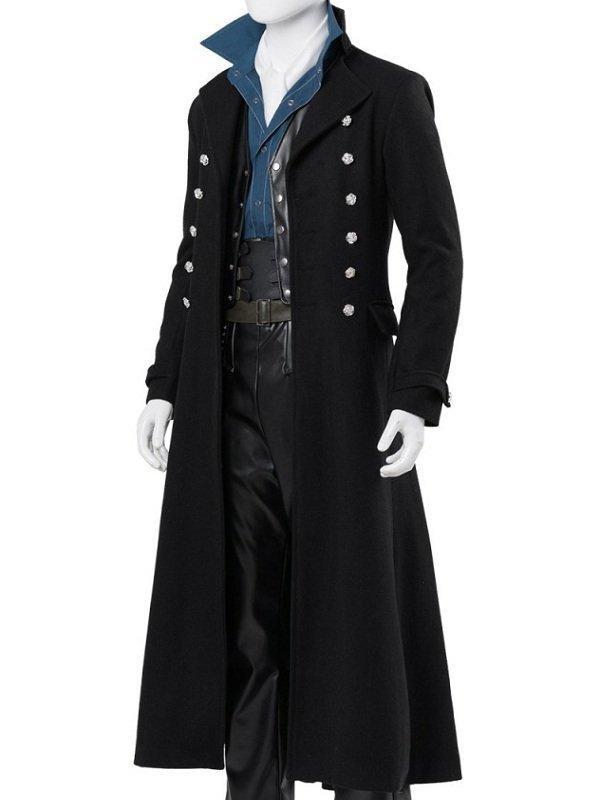 Johnny Depp Fantastic Beasts 2 Wool Coat