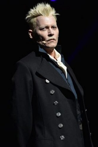 The Crimes of Grindelwald Cosplay Black Coat