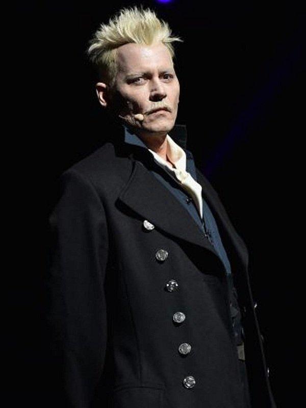 The Crimes of Grindelwald Cosplay Black Coat
