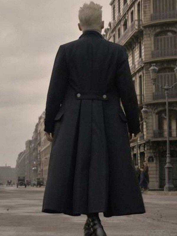 The Crimes of Grindelwald Cosplay Stylish Black Coat