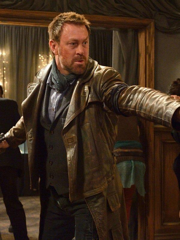 Defiance Grant Bowler Leather Coat