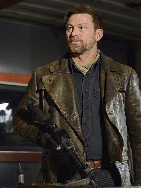 Defiance Season 3 Grant Bowler Joshua Nolan Coat
