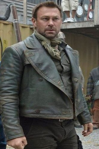 Defiance S3 Joshua Nolan Leather Jacket