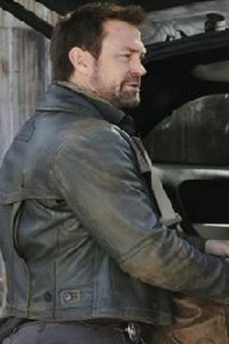 Defiance Grant Bowler Leather Jacket