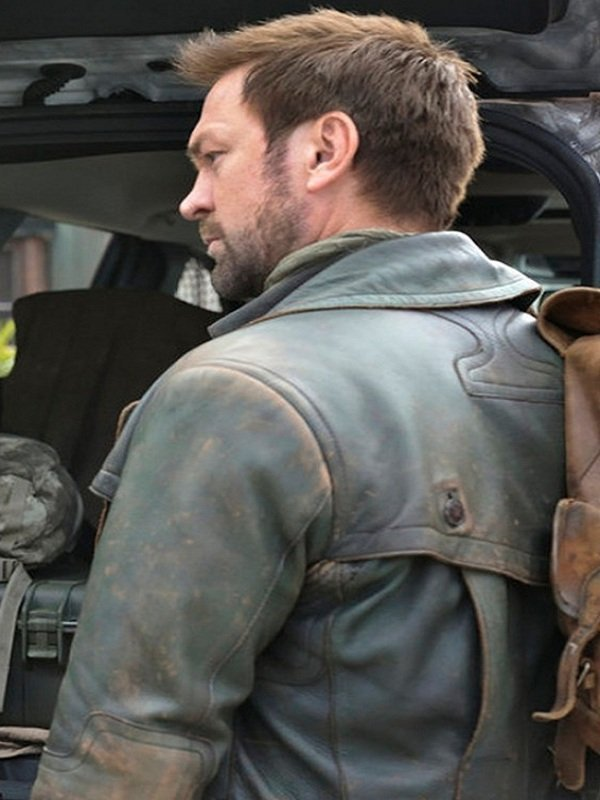 Defiance Grant Bowler Brown Leather Jacket