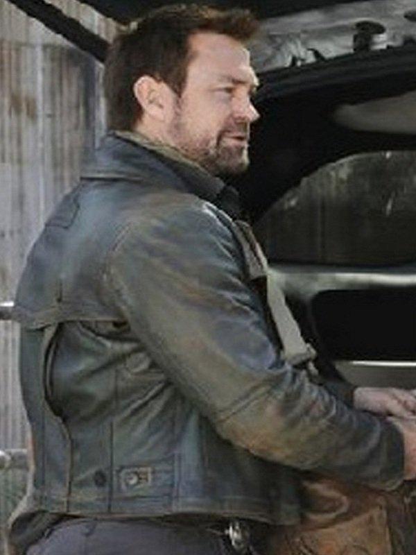 Defiance Grant Bowler Leather Jacket